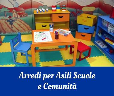 Effec arredi per asili scuole e comunit arredi sacri for Arredi per alberghi e hotel